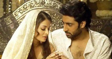 Abhishek's proposal to Aishwarya