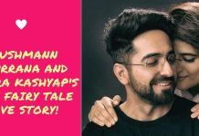 Love story of Ayushman khurrana & Tahira Kashyap