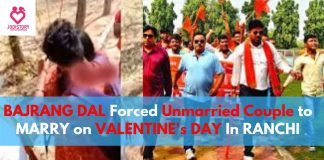 BAJRANG DAL Forced Unmarried Couple to MARRY on VALENTINE's DAY In RANCHI