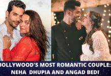 Neha Dhupia & Angad Bedi love story began at karan johar party