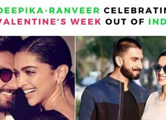 Deepika-ranveer celebrating Valentine's week