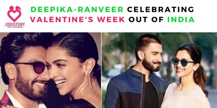 Deepika-ranveer celebrating Valentine's week