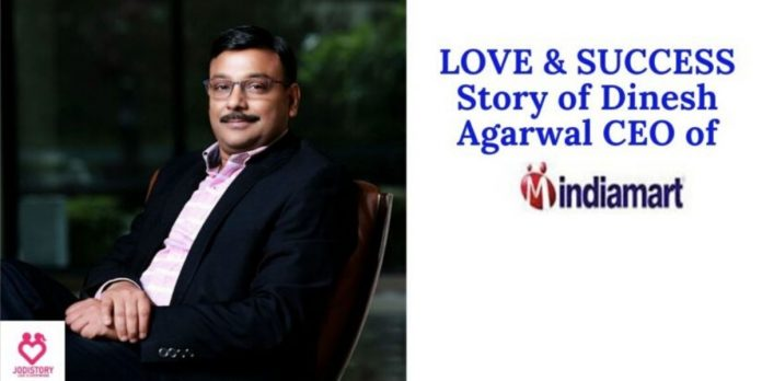 (IndiaMART) Dinesh Agarwal Love|Success story|With Chetna