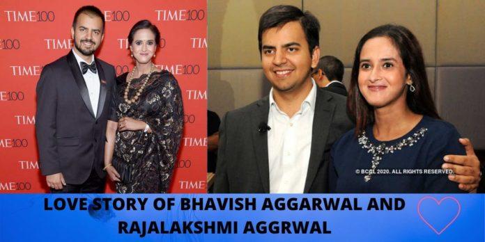 bhavish aggarwal love story wife family