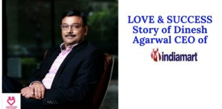 Dinesh agarwal love & success story with chetna agarwal Indiamart