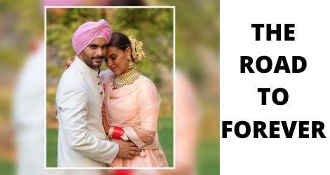 Neha Dhupia & Angad Bedi love story began at karan johar party