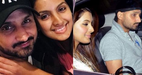 Harbhajan meets Geeta for the first time
