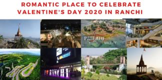 place to celebrate valentines day in ranchi