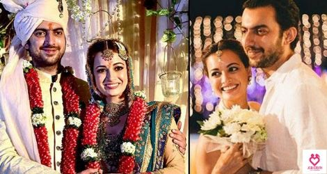 Love Story of Dia Mirza And Sahil Sangha.