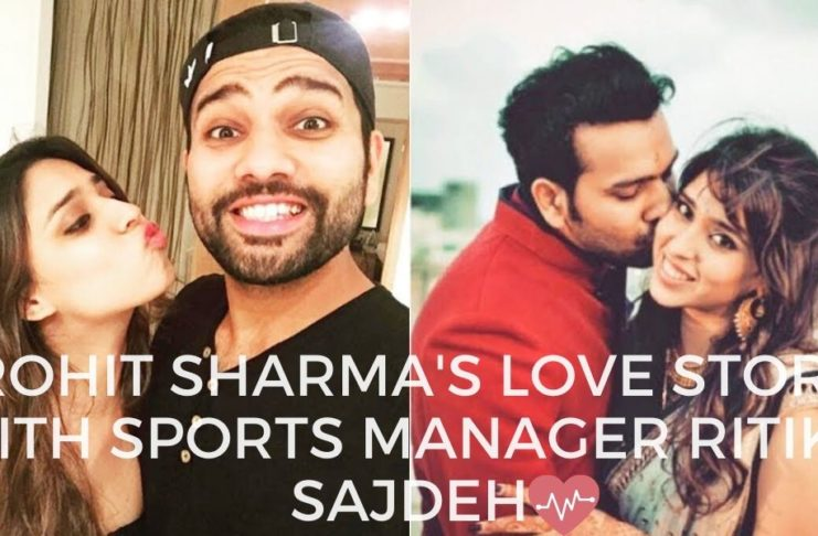 Rohit Sharma love with sports manager Ritika Sajdeh
