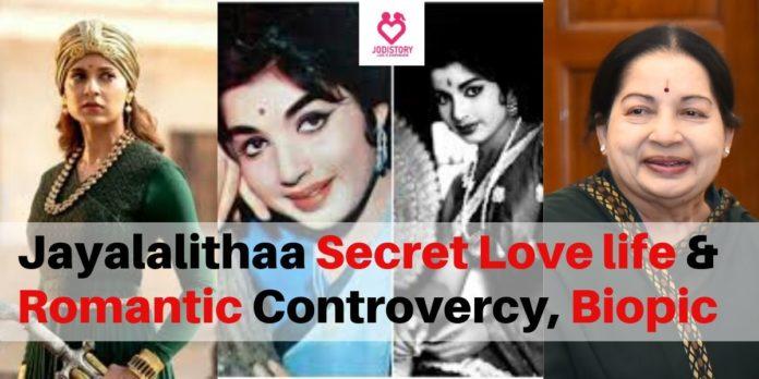 Jayalalithaa love affairs with MGR biopic Thailaivi