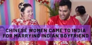 Chinese Women Came to India for Marrying Indian Boyfriend