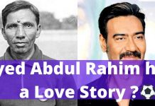 Syed Abdul Rahim Love Story