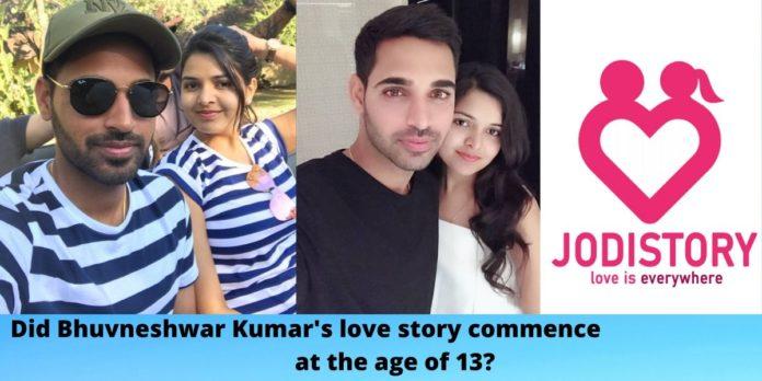 Bhvuneshwar kumar's love story
