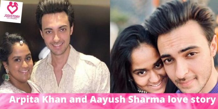 Arpita Khan and Aayush Sharma love story