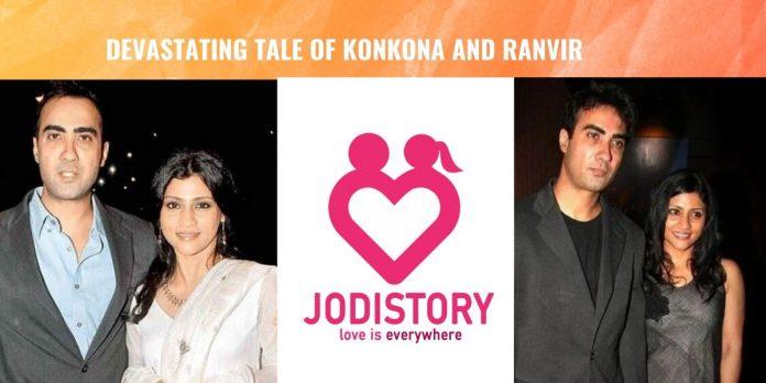 love story of konkona sen and ranvir shorey
