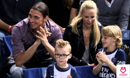 Zlatan Ibrahimovic and Helena Seger Heartwarming Lovestory