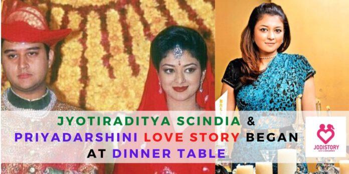 Jyotiraditya Scindia & Priyadarshini's love story.