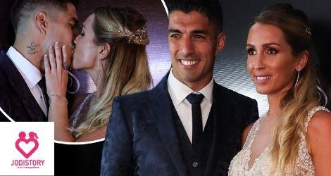 Luis Suarez and Sofia Balbi love Story