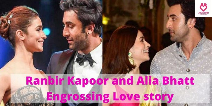Ranbir Kapoor and Alia Bhatt flavored Love story