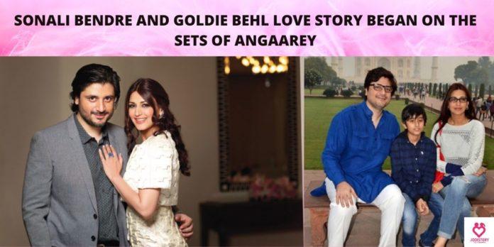Sonali Bendre-Goldie Behl's Love Story