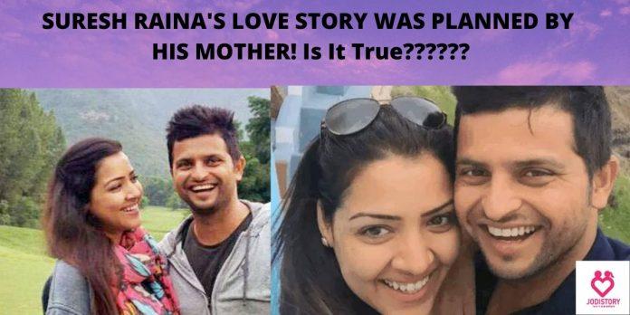 SURESH RAINA'-priyanka chaudhary's love story