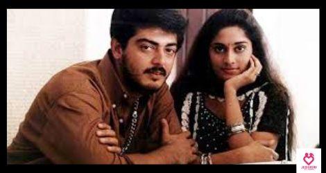 ajith and shalini's love story