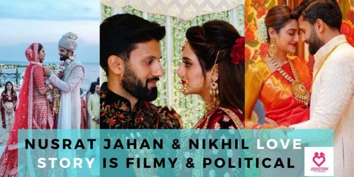 nusrat jahan & nikhil love story