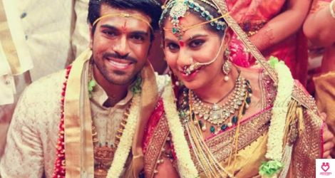 Ram Charan and Upasna's love story