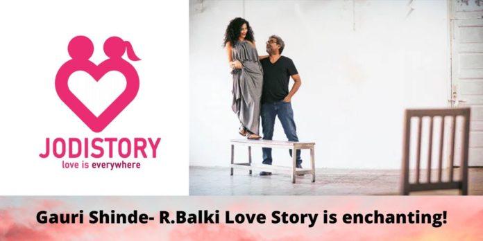 Gauri shinde- R. Balki love story