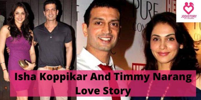 sha Koppikar And Timmy Narang Love Story