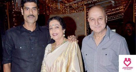 Anupam Kher And Kirron Kher Lovestory