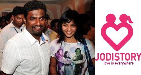 Muttiah Muralitharan and Madhimalar Lovestory
