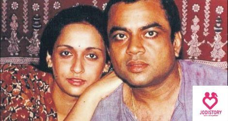 Paresh Rawal and Swaroop Sampat LoveStory