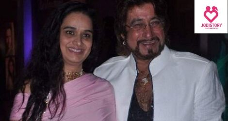 Shakti Kapoor And Shivangi Kolhapure Lovestory