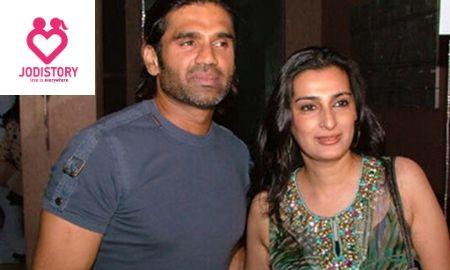 Sunil Shetty And Mana Shetty Love Story