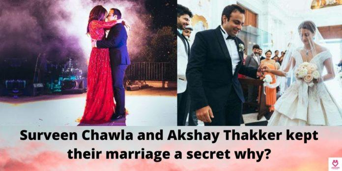 Surveen Chawla and Akshay Thakker Love Story