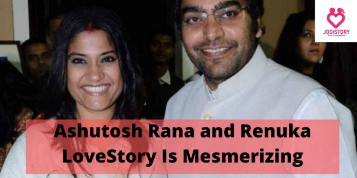 Ashutosh Rana and Renuka LoveStory
