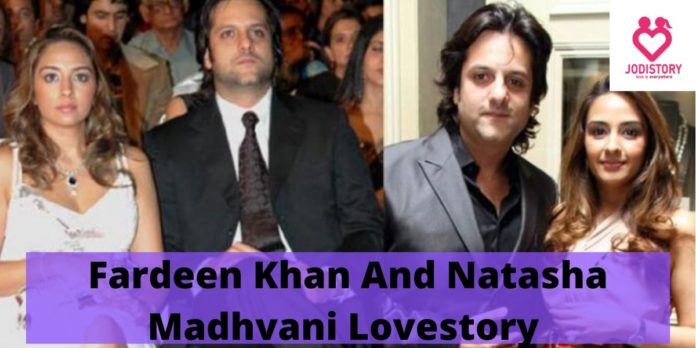 Fardeen Khan And Natasha Madhvani Lovestory