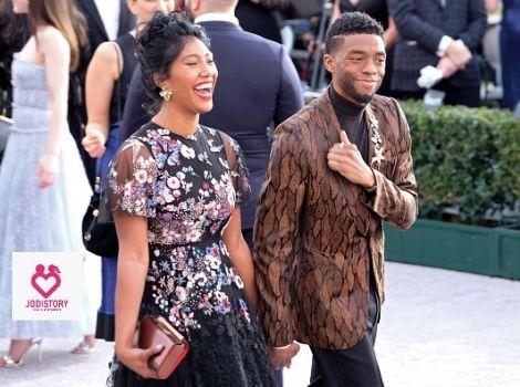 Chadwick Boseman's love story