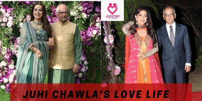 Juhi Chawla and Jay Mehta Love Story