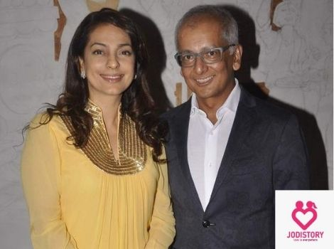 juhi chawla & jay mehta love story