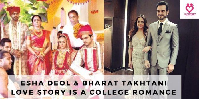 esha deol & bharat takhtani love story