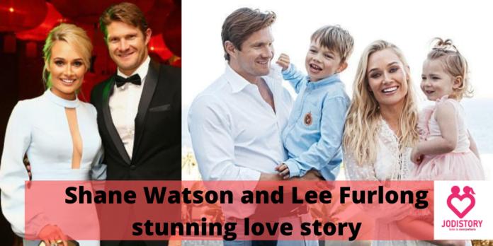 Shane Watson and lee furlong love story