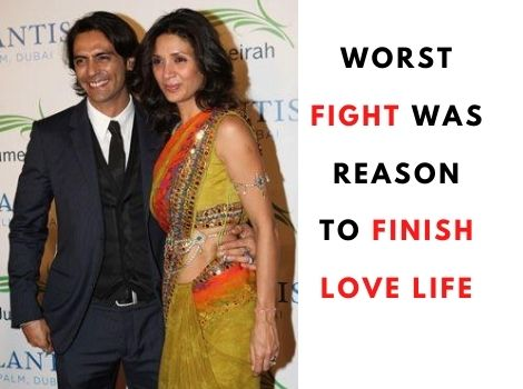 Arjun Rampal & Gabriella Demetriades love story begin After Mehr Fight