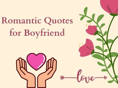 Romantic short deep love quotes for boyfriend
