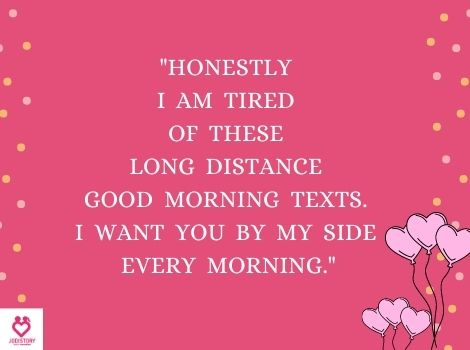LOVE QUOTES WITH GOOD MORNING