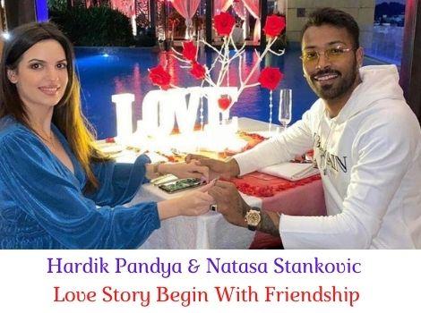 Hardik Pandya and Natasa Stankovic Love Story