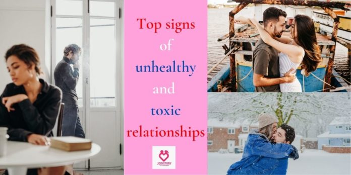 Signs of unhealthy and toxic relationships