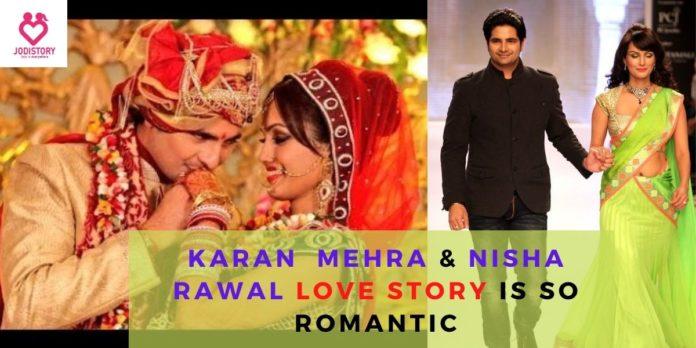 karan mehra & nisha rawal love story
